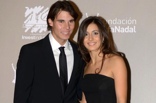 Rafael Nadal and  Mery Perello