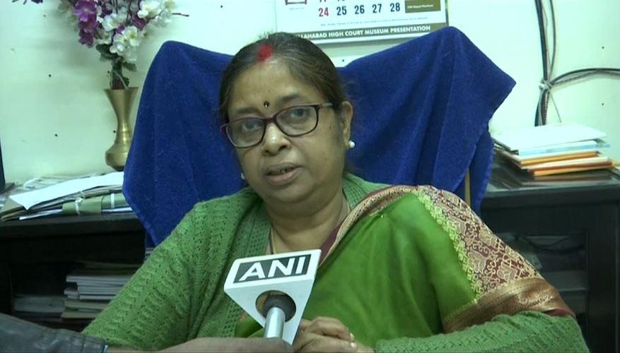 UP Board Secretary Nina Srivastava
