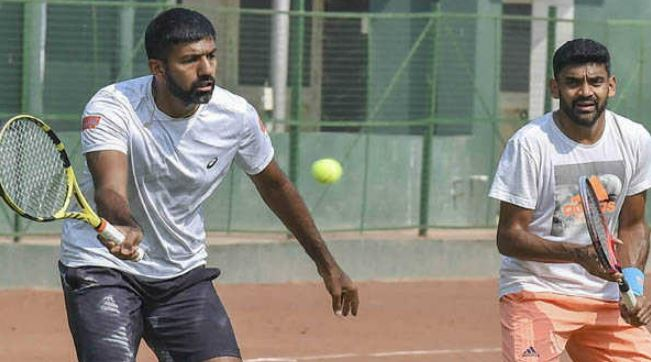 Rohan Bopanna and Divij Sharan