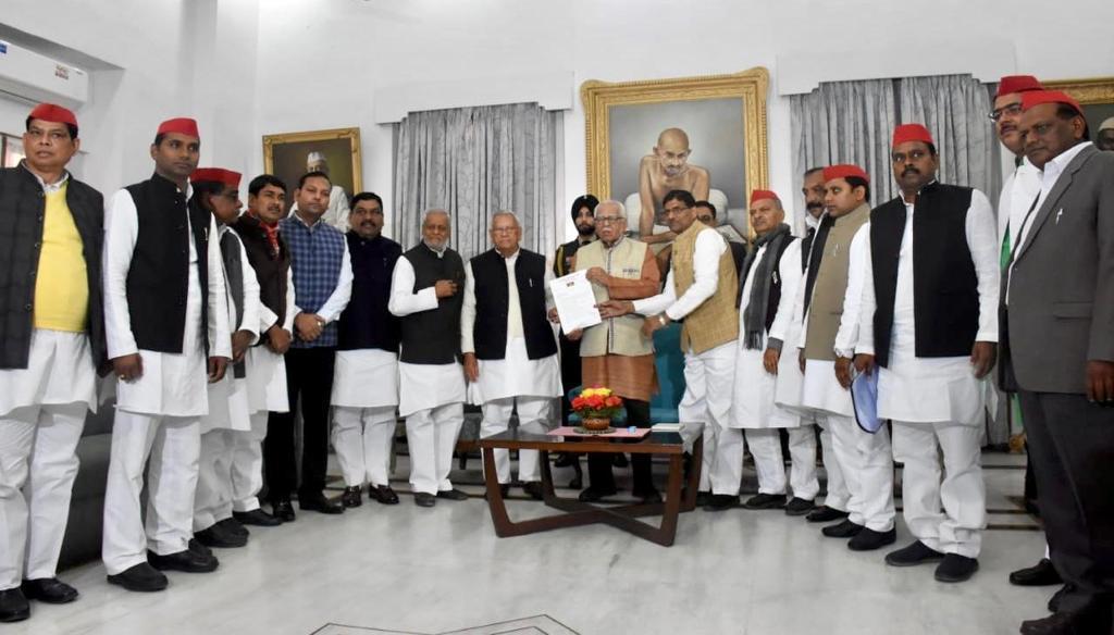 A 11-member joint delegation of Samajwadi Party (SP) and Bahujan Samajwadi Party