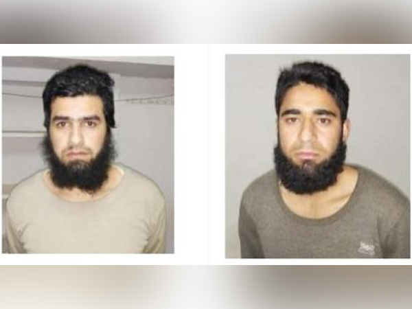 Shahnawaz (L) is from Kulgam and Aqib (R) is from Pulwama