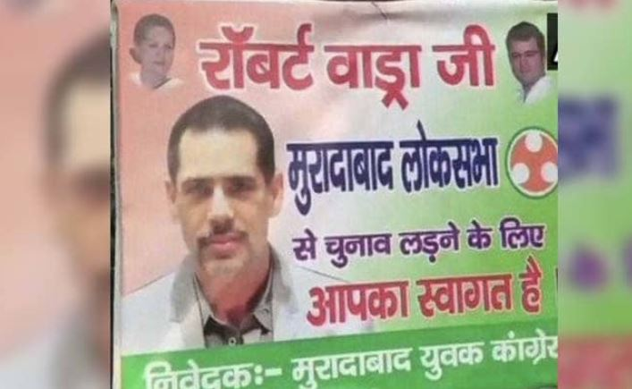 The poster which is put in Moradabad