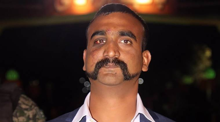 Indian Wing Commander Abhinandan Varthaman