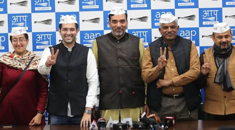 Aam Aadmi Party leaders