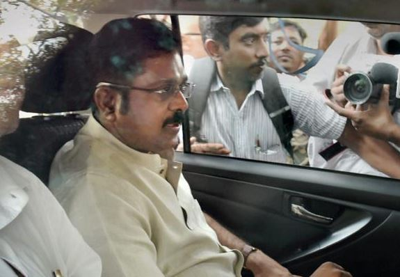 Former AIADMK leader T T V Dhinakaran