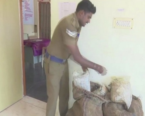 Police seizes 2 bags of Cannabis