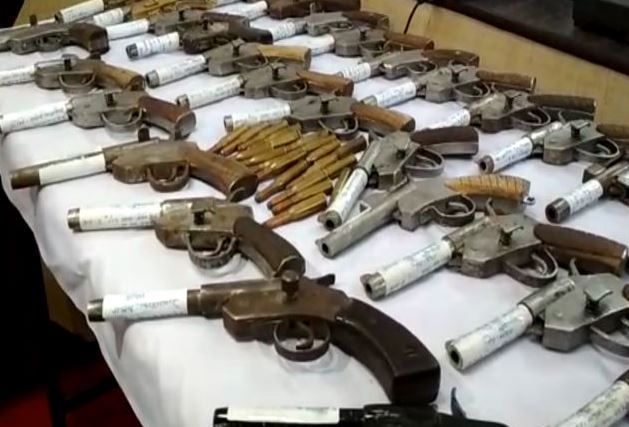 Illegal arms factory busted, 1 held