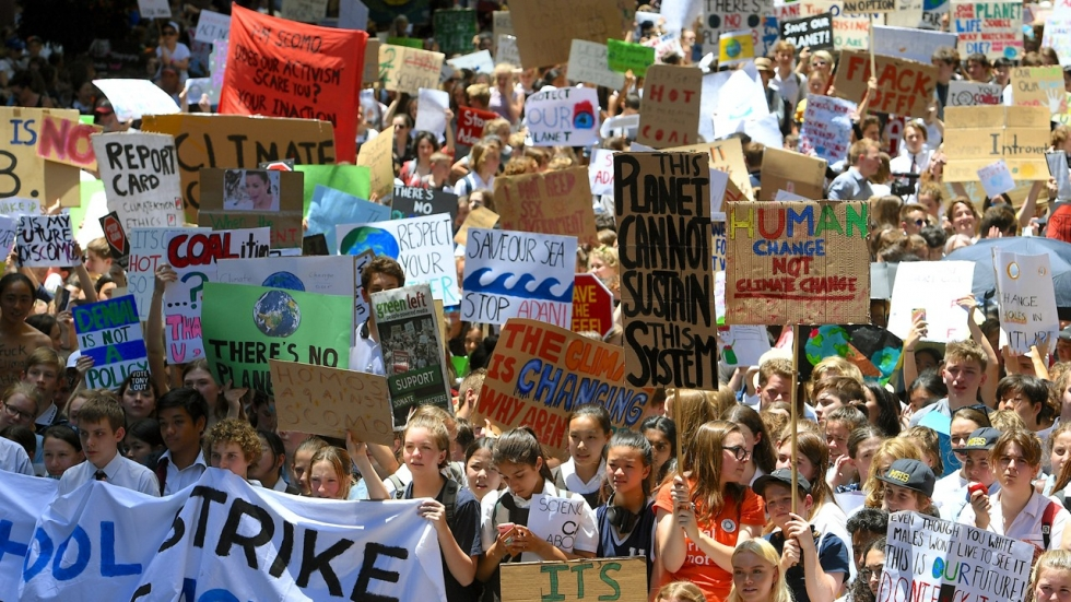 Scores of children to joins the Global Climate Strike