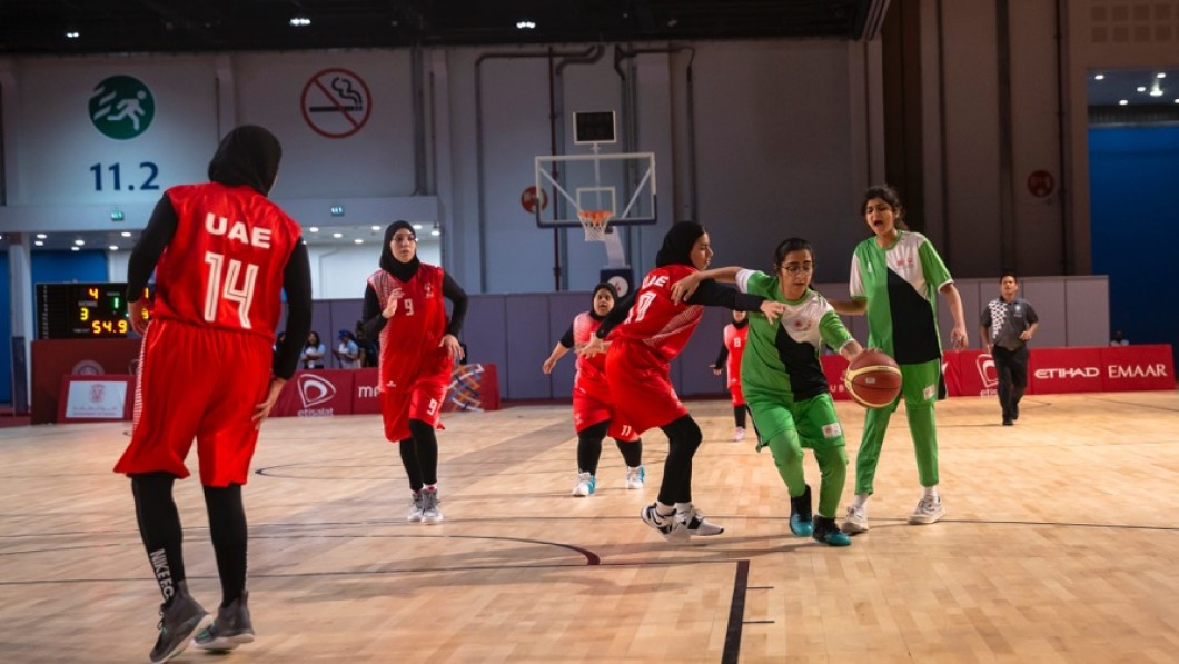 UAE women's basketball teams earn 2 gold medals
