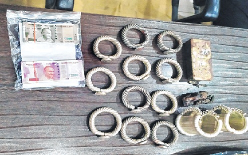 22-kg silver jewellery, Rs 11-lakh cash seized
