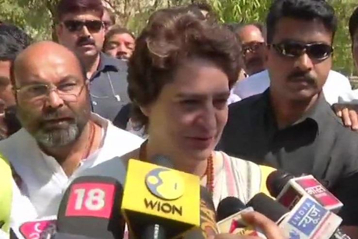 Congress General Secretary for eastern Uttar Pradesh Priyanka Gandhi Vadra