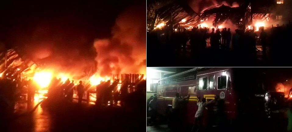 Fire breaks out at factory in Delhi's Bawana