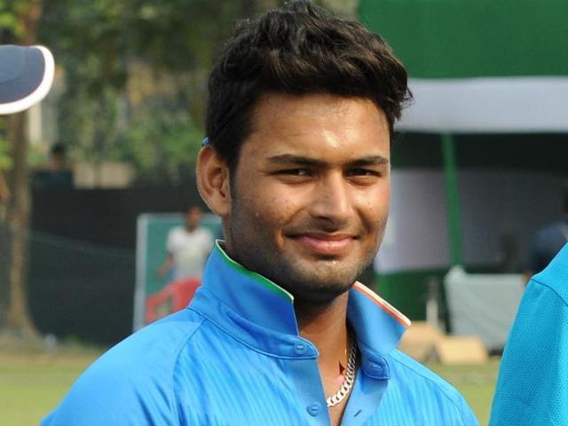 wicketkeeper-batsman Rishabh Pant