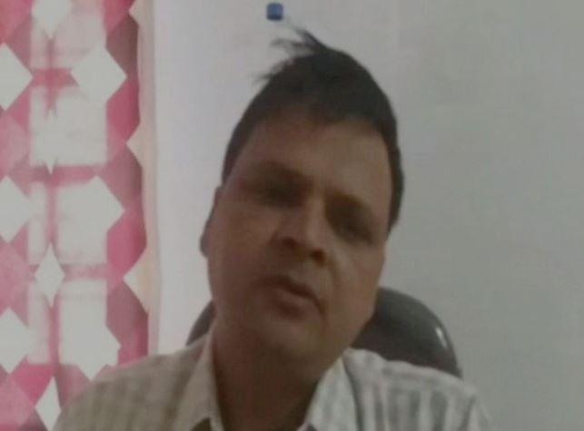Amarpatan Tehsildar Manvendra Singh (File photo)