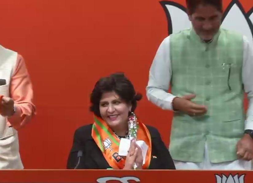 Deepa Malik joins BJP