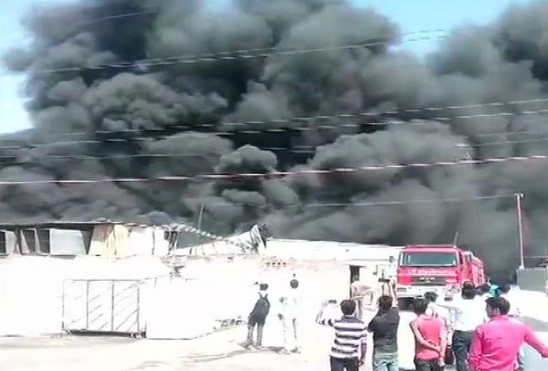 Fire in Greater Noida factory, no casualties