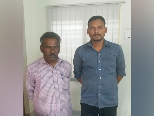 The two accused in cyber fraud case.