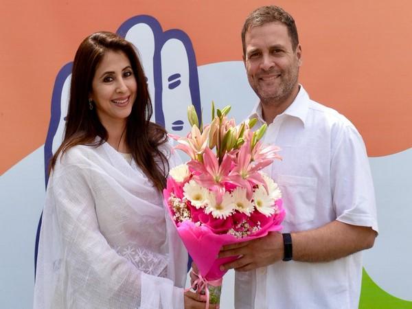 Bollywood actor Urmila Matondkar joins Congress on Wednesday in New Delhi