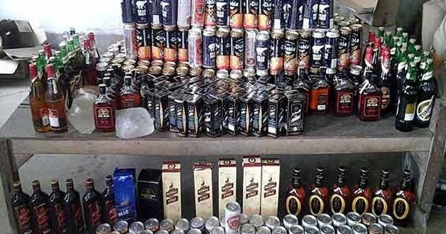 Alcohol worth Rs 1.50 crore seized in Goa