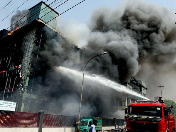 Fire in private factory in Greater Noida, none hurt