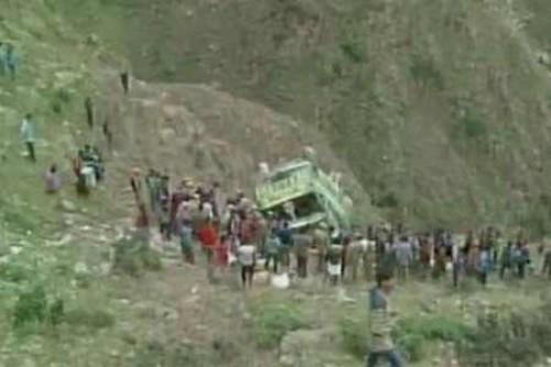 Six killed as vehicle falls into gorge in Rajouri
