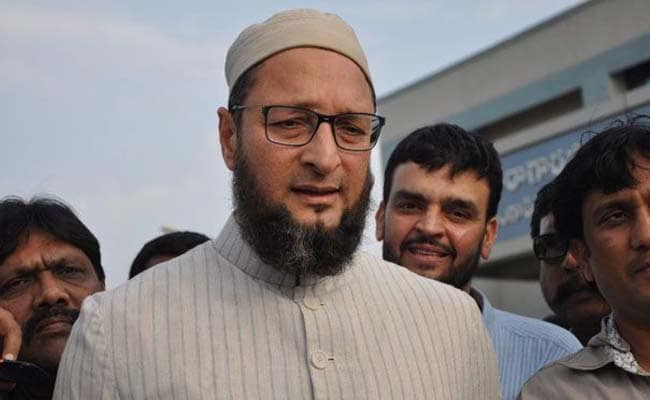 All India Majlis-e-Ittehadul Muslimeen Chief Assadudin Owaisi