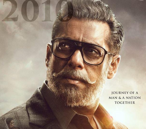 New Look Of Salman Khan for 'Bharat'