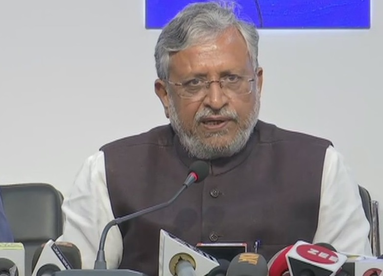 BJP leader and Bihar's Deputy Chief Minister Sushil Modi