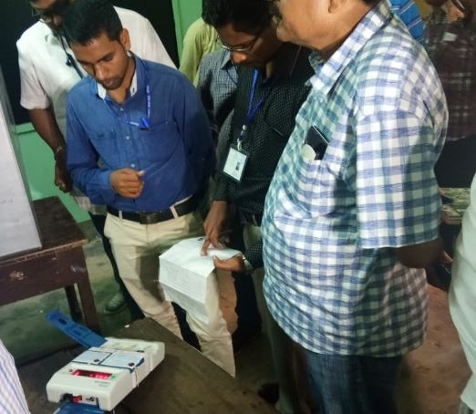 EVM malfunctions in Assam