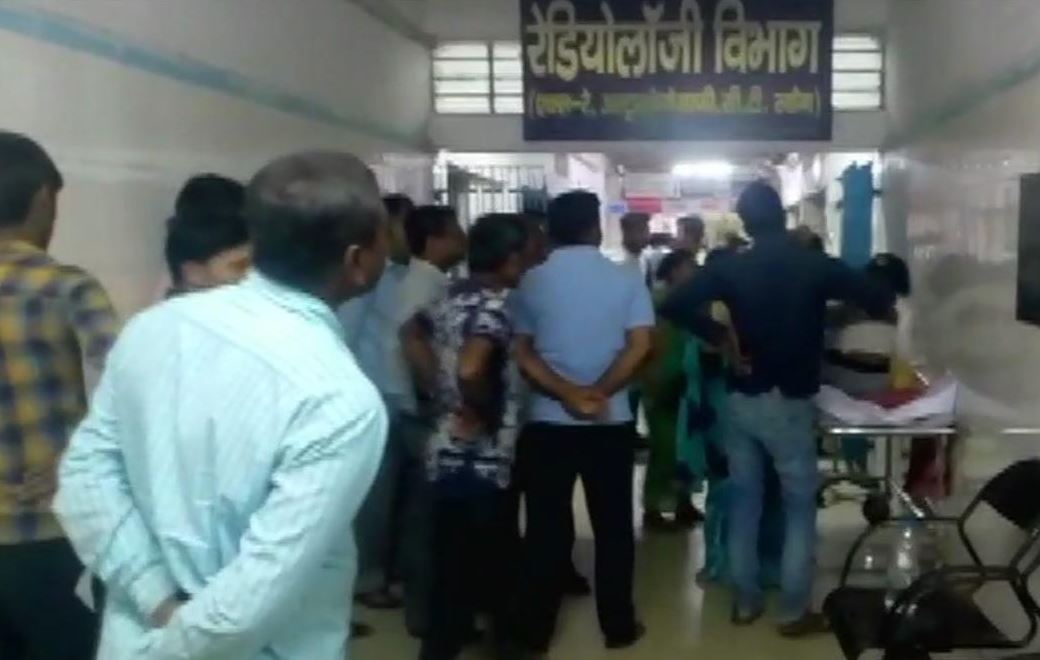 Hospital where the victim is undergoing treatment