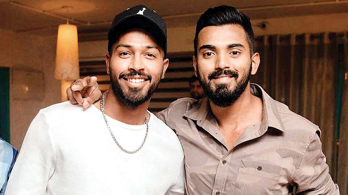 India cricketers Hardik Pandya and K L Rahul