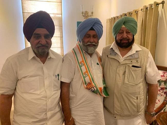 AAP legislator Nazar Singh Manshahia joins Congress