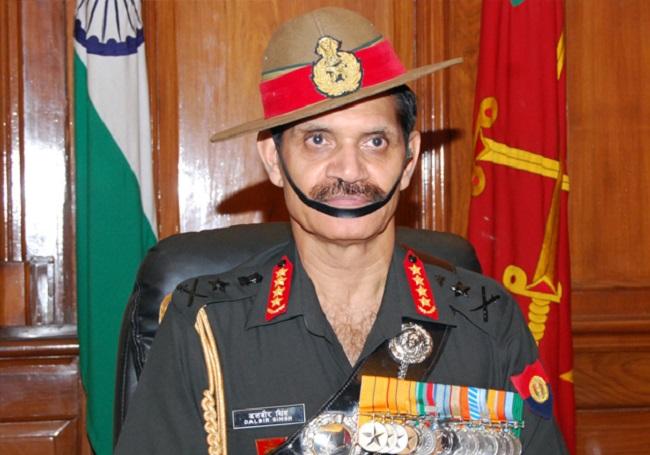 Former Army General Dalbir Singh Suhag