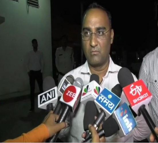 Additional SP Surguja in Chhattisgarh's Balrampur on Saturday