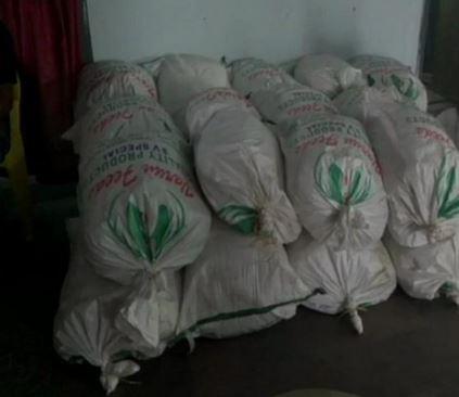 cannabis seized by Visakhapatnam Rural Police at Garikabanda check post