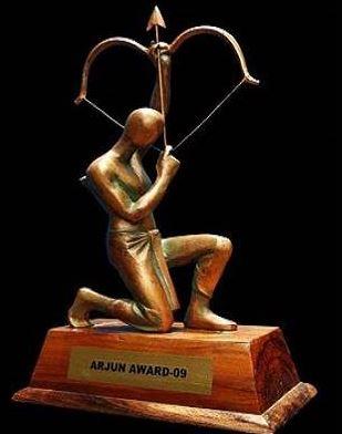 Arjuna award  trophy
