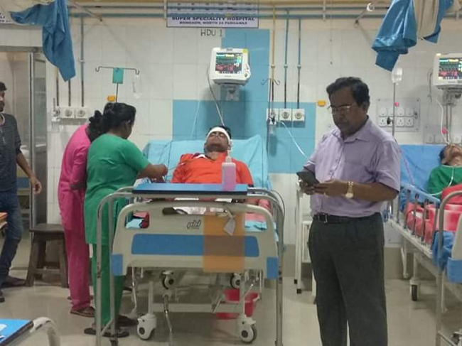 BJP candidate Shantunu Thakur hospitalized