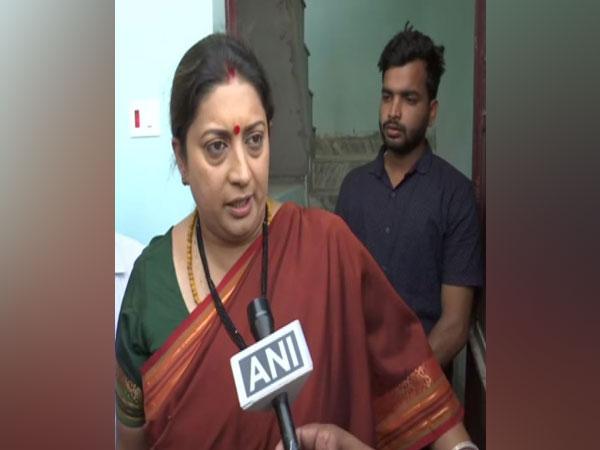 Union Minister and BJP candidate Smriti Irani