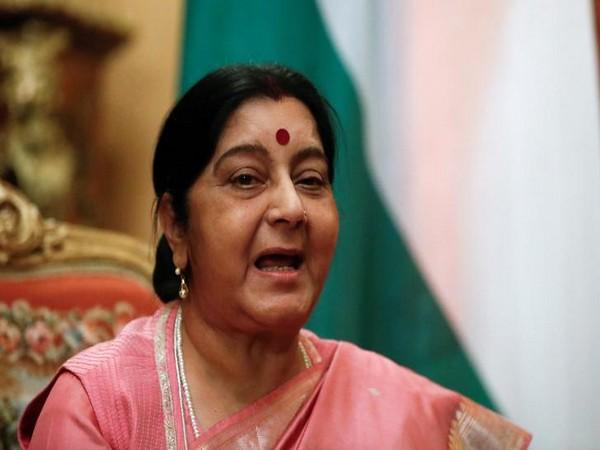 Union Minister of External Affairs Sushma Swaraj