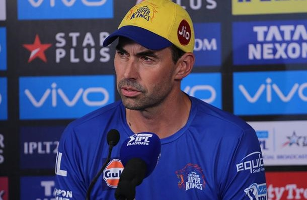 Chennai Super Kings head coach Stephen Fleming