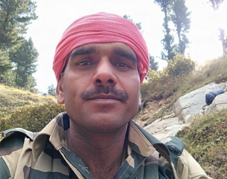former BSF constable Tej Bahadur Yadav