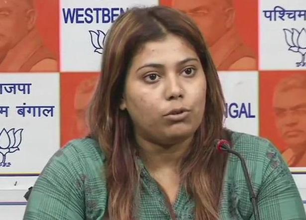 BJP youth wing member Priyanka Sharma