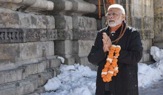 Modi will begin his two-day visit by offering prayers at the altar of Kedarnath temple