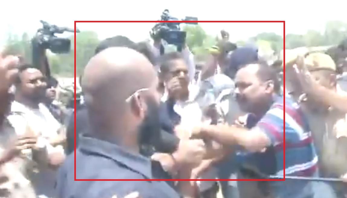 Tej Pratap Yadav's personal security guards in Patna beat a camera person