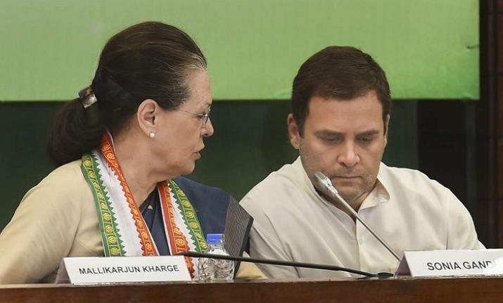 Congress President Rahul Gandhi and Sonia Gandhi (File Photo)