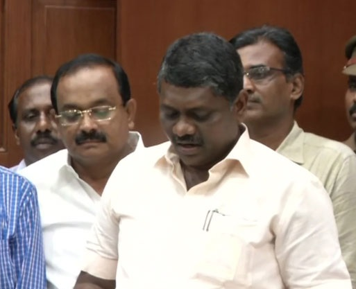 Dravida Munnetra Kazhagam's MLAs took oath