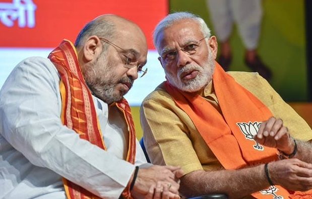 Prime Minister Narendra Modi with BJP president Amit Shah (File Photo)