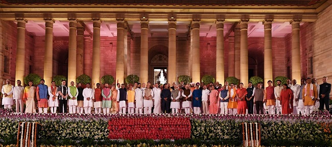 Union Cabinet Ministers