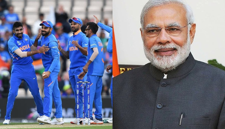 PM wishes Indian cricket team