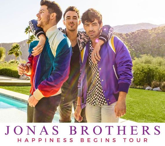 Jonas Brother's brand new album 'Happiness Begins'